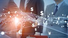 ビジネスと取引 金融ネットワーク