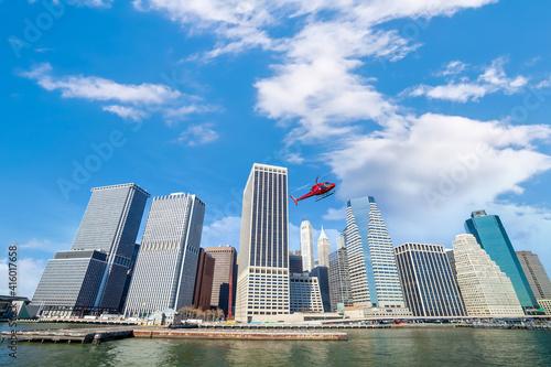 New York City skyline, cityscape of Manhattan in USA © f11photo