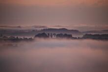 Fog Over The Hills