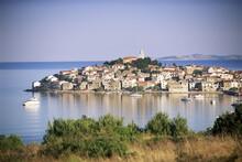 Primosten, A Medieval Town On A Peninsula Near Sibenik, Central Dalmatia, Dalmatian Coast, Croatia, Europe