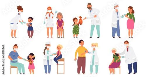 Fotografia People vaccination