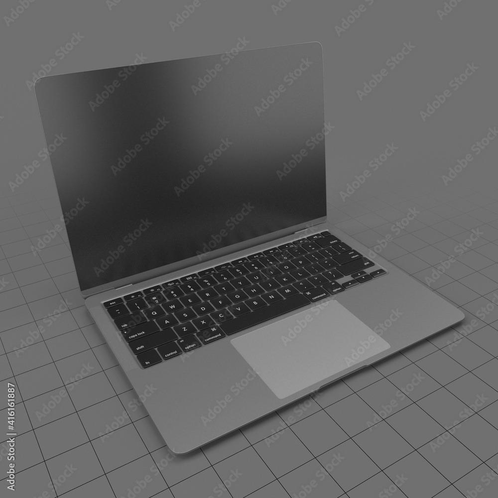 Fototapeta Open laptop