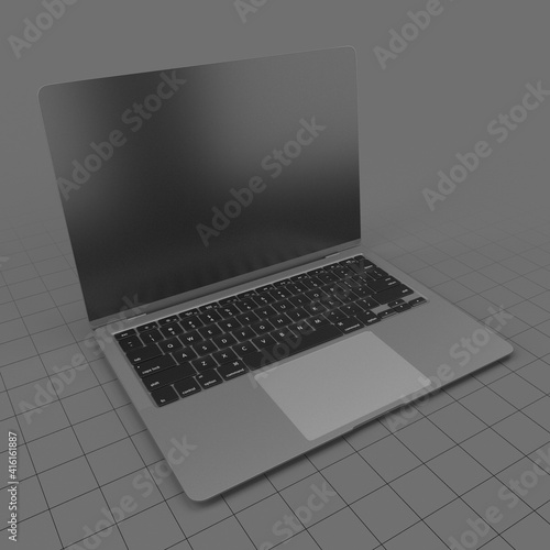 Fototapeta Open laptop obraz