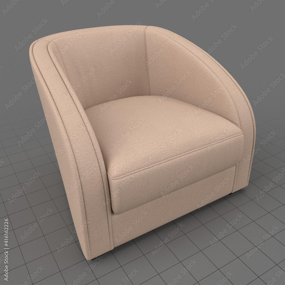 Fototapeta Modern armchair 3
