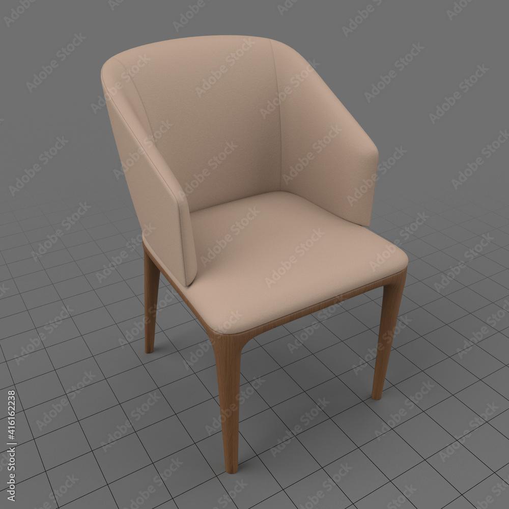 Fototapeta Modern armchair 4