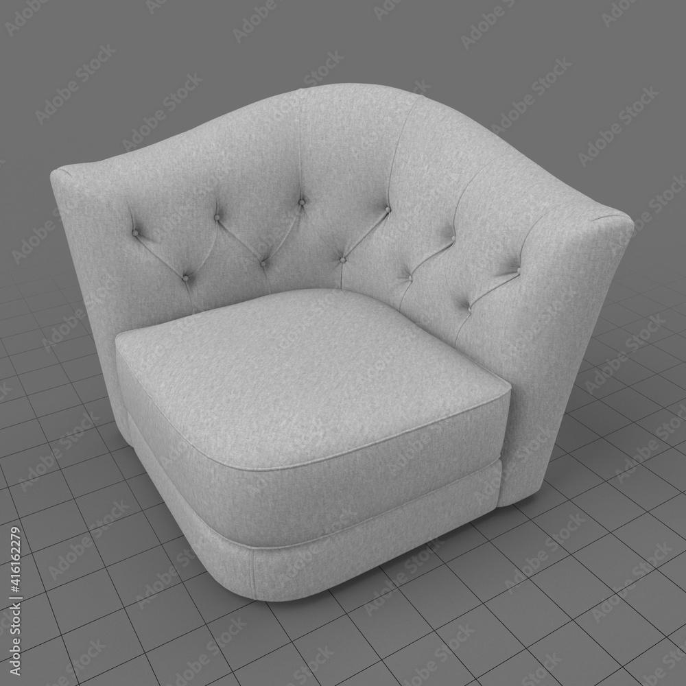 Fototapeta Modern armchair 1