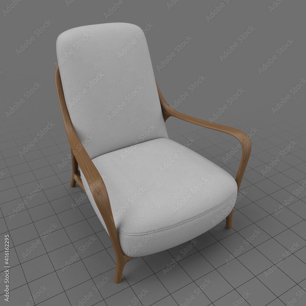 Fototapeta Modern armchair 2
