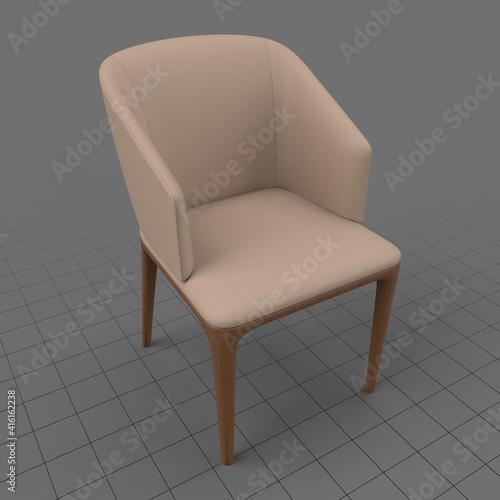 Fototapeta Modern armchair 4 obraz