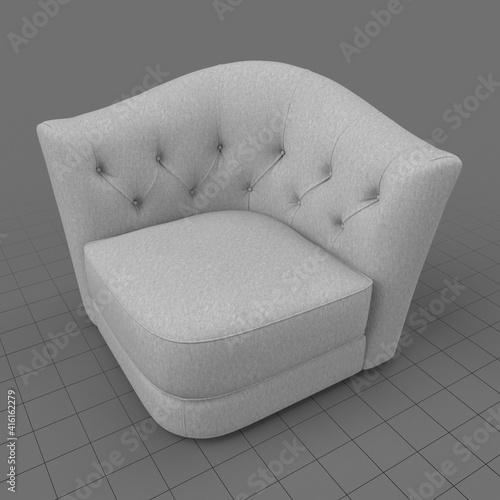 Fototapeta Modern armchair 1 obraz