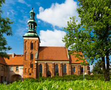 Picture Of St. Jana Chrzciciela Old Landmark In Gniezno At Sunny Day, Poland