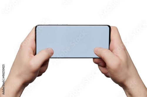 Browsing internet on smartphone © PixieMe