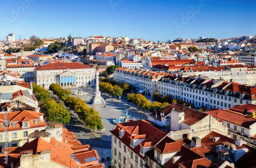 Lisbon - Rossio square at day, Portugal © TTstudio