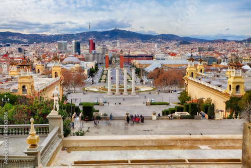 Placa De Espanya, Barcelona, Spain © TTstudio