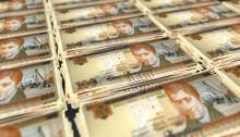 3D Bunch Of Honduras 100 Lempiras Money Banknote