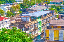 The Old Residential Housing In Bangkok, Thailand