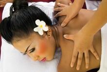 Girl Having A Massage, Thailand, Southeast Asia, Asia