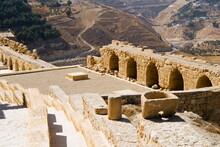 Crusader Fort At Kerak, Jordan