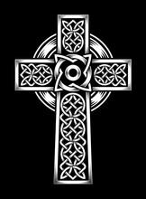 Vector Celtic Cross. Ethnic Ornament.