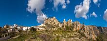 Tourist Spot, Castell De Guadalest. Alicante, Spain