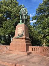 Russia, Saint Petersburg, 10.04.2019 Monument To Mikhail Ivanovich Glinka