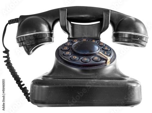 Obraz na plátně Vieux téléphone vintage