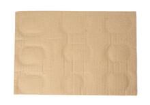 Rectangular Cardboard Backing For Glass Bottles Packaging,