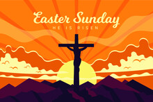 Flat Easter Sunday Illustration_5