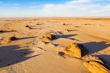 Aerial Of Beautiful Rock Formations In The Djado Plateau, Tenere Desert, Sahara, Niger, Africa