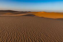 Ripples In The Desert Sand, Sahara, Niger, Africa