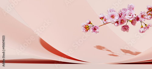 Fotografía Minimal mockup background for product presentation