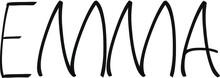 Emma Name - Handwritten Calligraphy For Design
