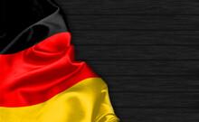 Closeup Of Germany Flag