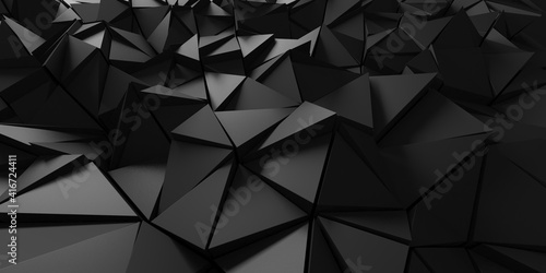 Chrome Metallic Glossy Futuristic Background