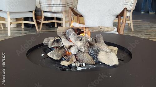 Obraz chimenea hogar - fototapety do salonu