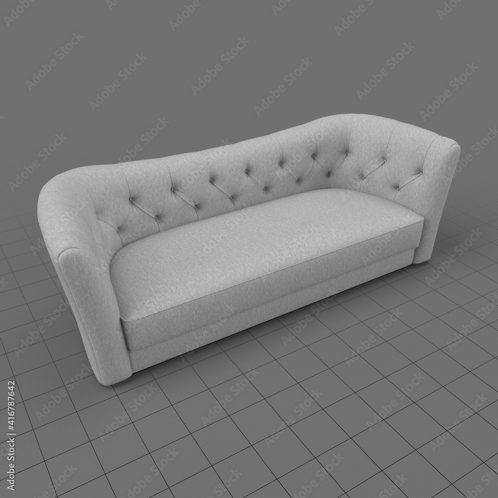 Fototapeta Knole style sofa