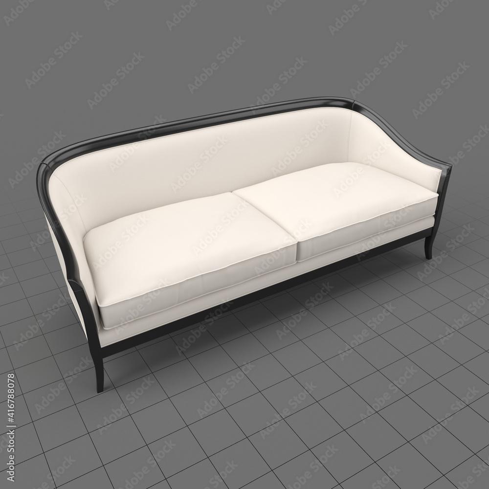 Fototapeta Cabriole style sofa 2