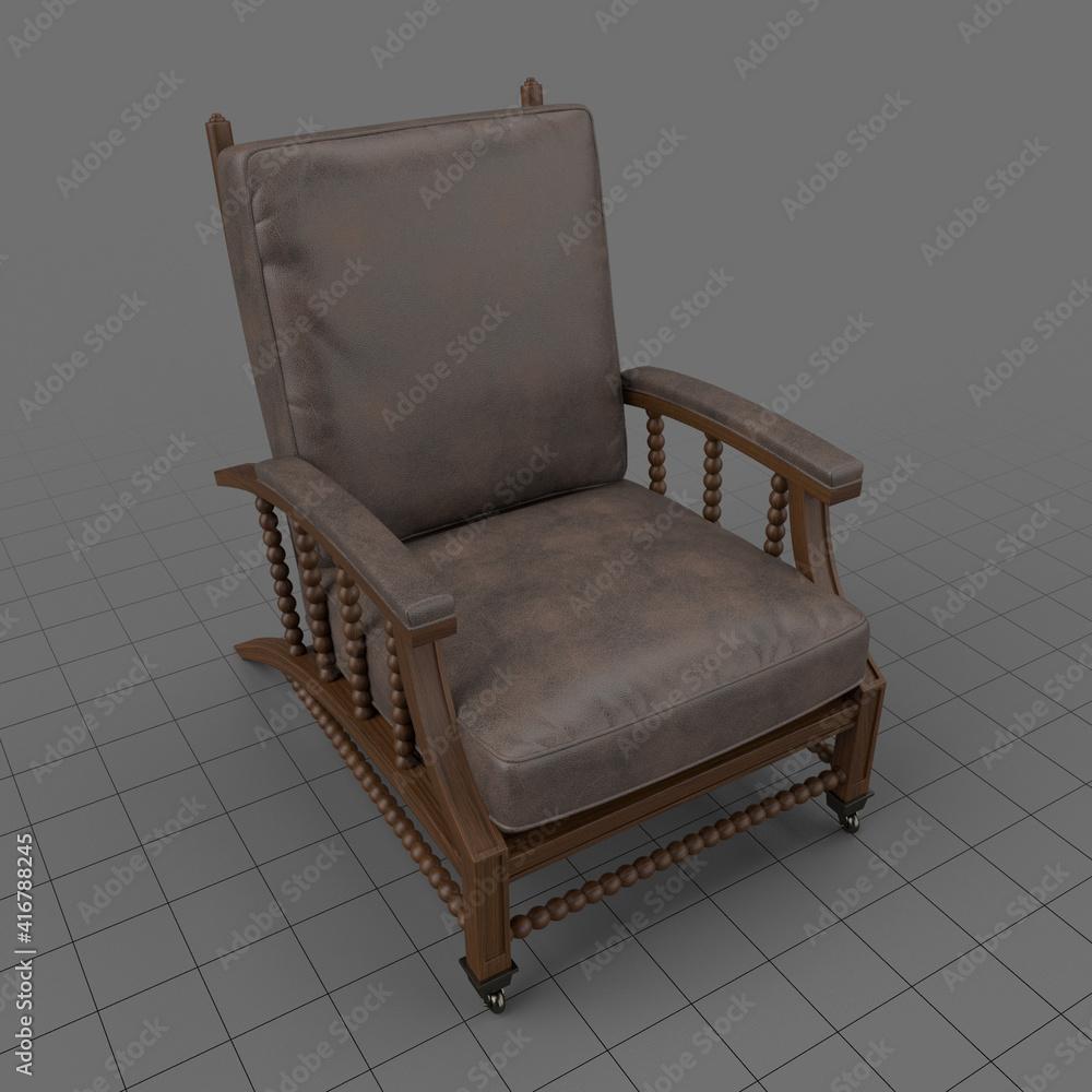 Fototapeta Leather armchair 2