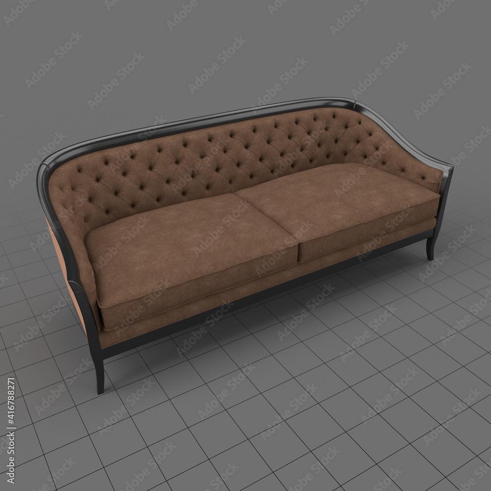 Fototapeta Cabriole style sofa 1