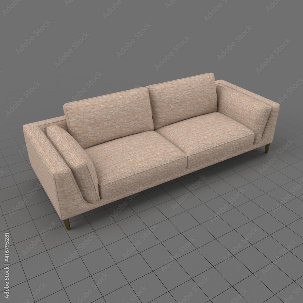 Fototapeta Sleeper style sofa