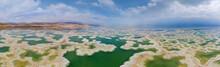 Aerial View Of Dead Sea, Ein Bokek, Israel.