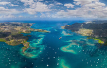 Aerial View Of The Lesser Antilles, Caribbean Sea