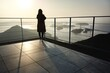 本州四国連絡橋 しまなみ海道の来島海峡大橋。亀老山展望公園から望む瀬戸内海の風景。