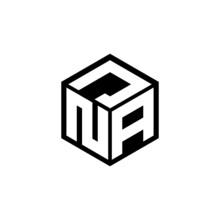 NAJ Letter Logo Design With White Background In Illustrator, Cube Logo, Vector Logo, Modern Alphabet Font Overlap Style. Calligraphy Designs For Logo, Poster, Invitation, Etc.
