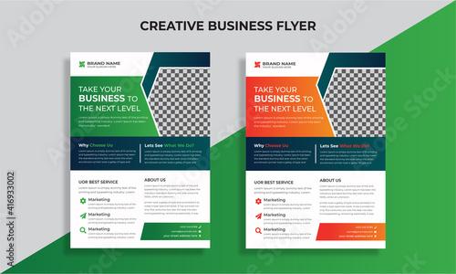 Fototapety, obrazy: Business Flyer Template