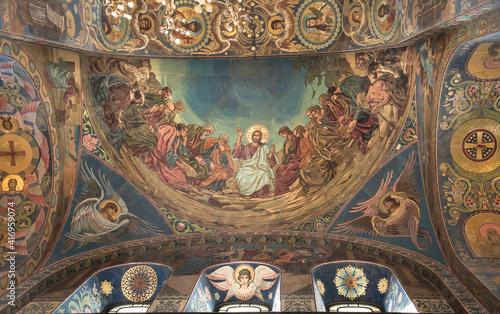 Fototapeta Church of the Resurrection in St