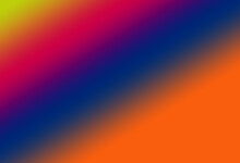 Light And Dark Blue And Red And Orange And Lemon Green Gradient Abstract