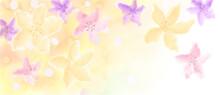 봄꽃 향기 가득한 바탕 그림