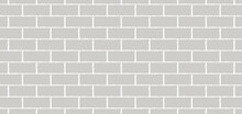 Vector Soft Brick Wall. Brick Wall Texture. Minimal Brick Wall Design Element For Banner Or Background.