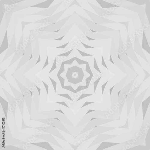 Fotografering Geometric design, Mosaic of a vector kaleidoscope, abstract Mosaic Background, colorful Futuristic Background, geometric Triangular Pattern