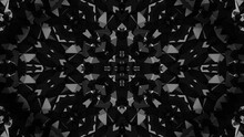 Dark Icosahedrons In Structural Kaleidoscope 03